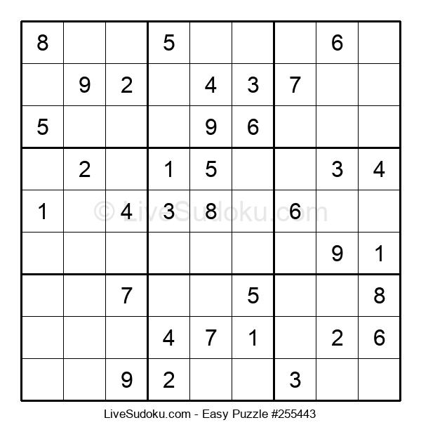 Beginners Puzzle #255443