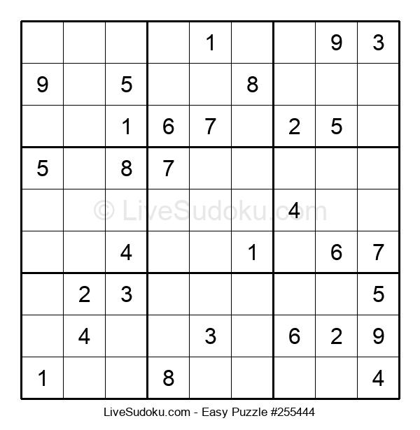 Beginners Puzzle #255444