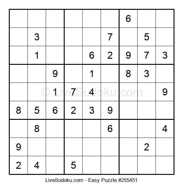 Beginners Puzzle #255451