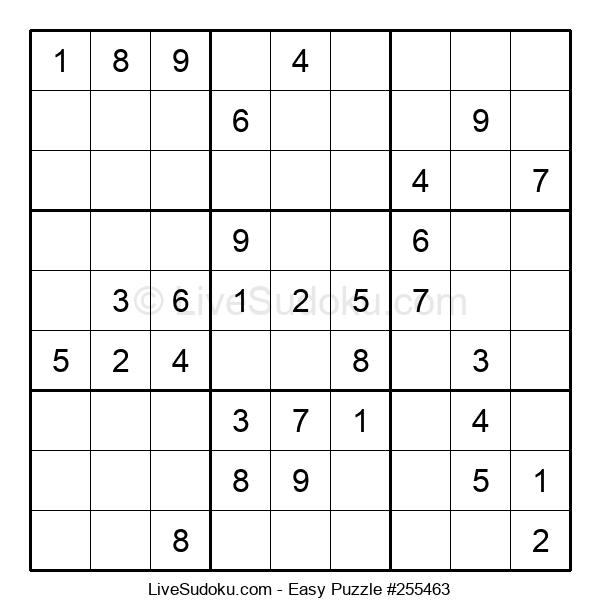 Beginners Puzzle #255463