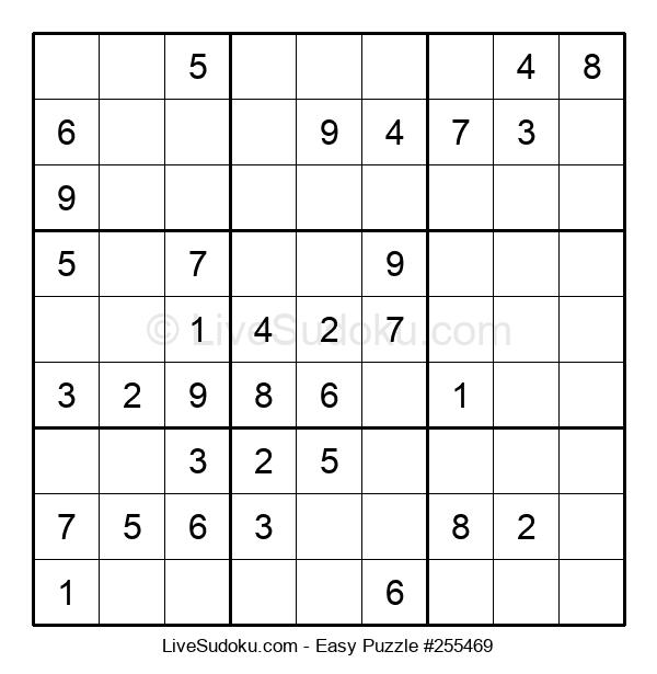 Beginners Puzzle #255469