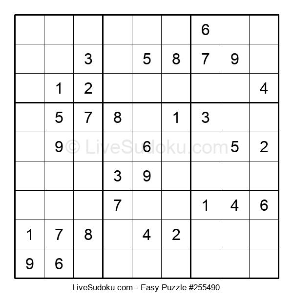 Beginners Puzzle #255490