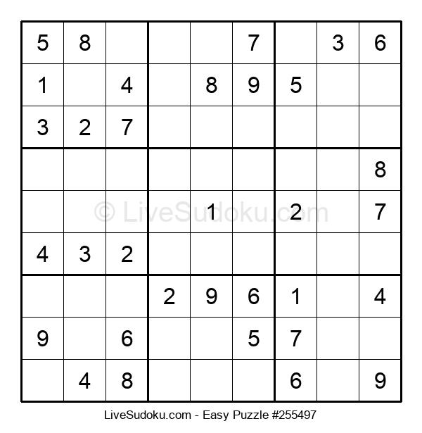 Beginners Puzzle #255497