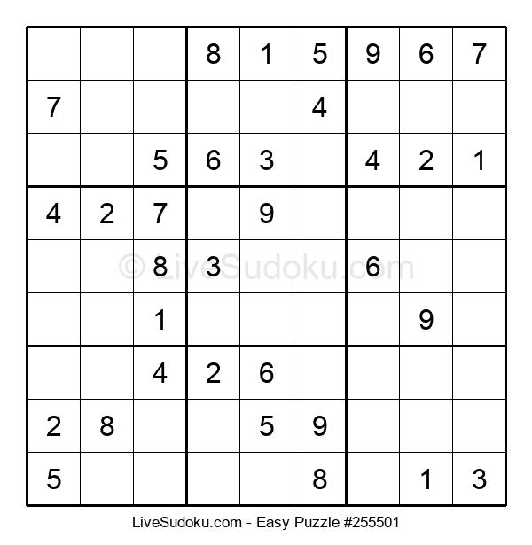 Beginners Puzzle #255501