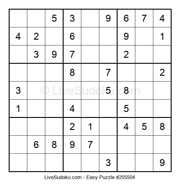 Beginners Puzzle #255504
