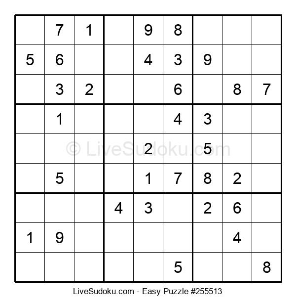 Beginners Puzzle #255513