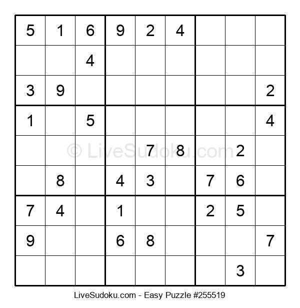 Beginners Puzzle #255519