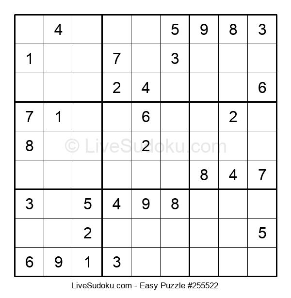 Beginners Puzzle #255522