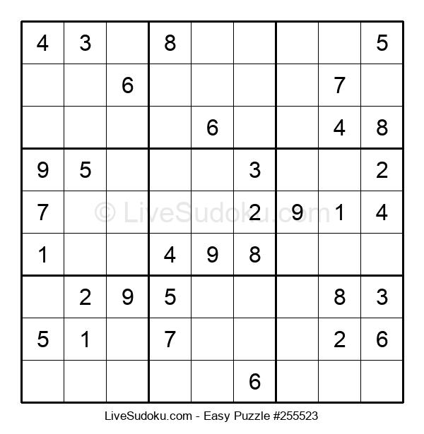 Beginners Puzzle #255523