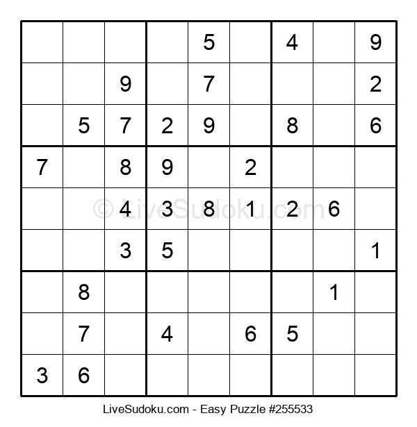 Beginners Puzzle #255533