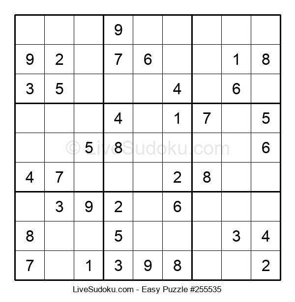 Beginners Puzzle #255535