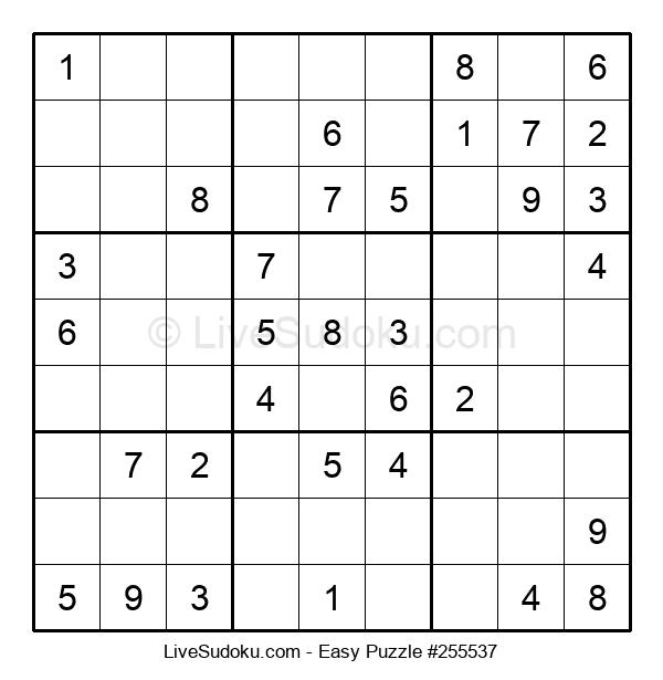Beginners Puzzle #255537