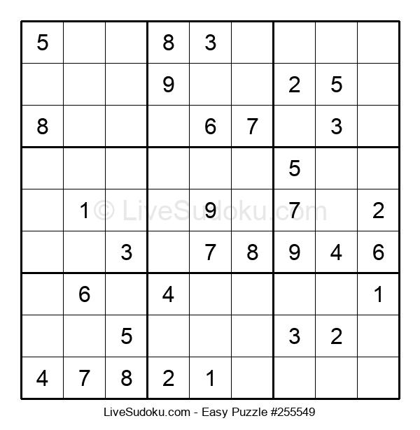 Beginners Puzzle #255549