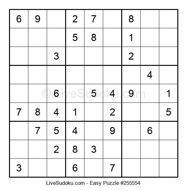 Beginners Puzzle #255554