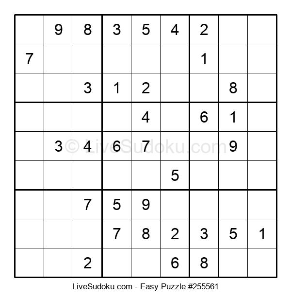 Beginners Puzzle #255561