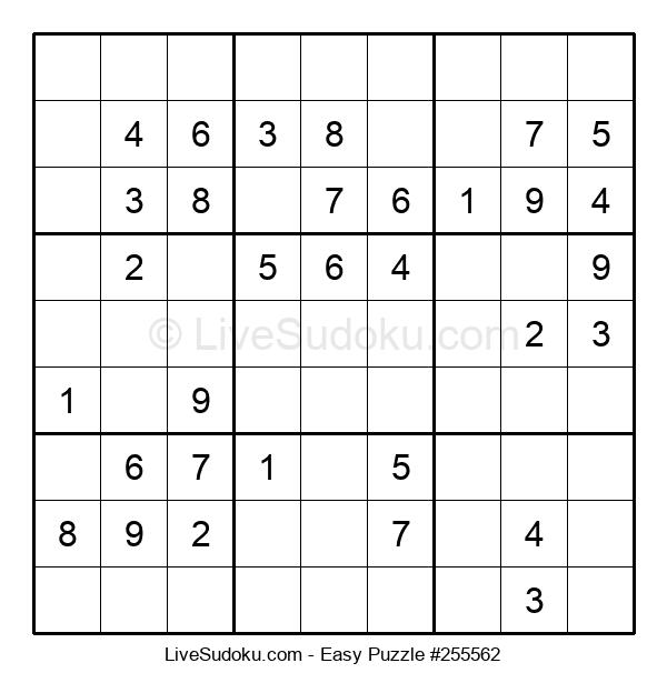 Beginners Puzzle #255562