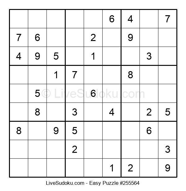 Beginners Puzzle #255564