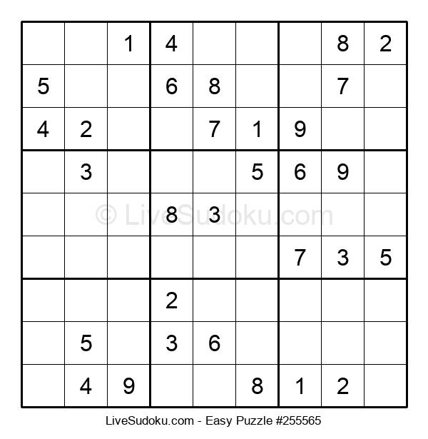 Beginners Puzzle #255565