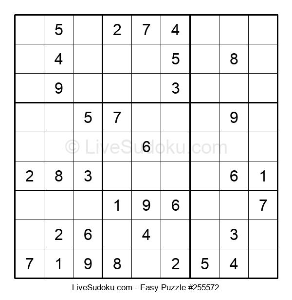 Beginners Puzzle #255572