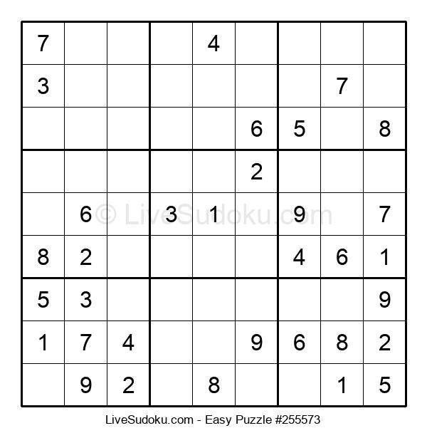 Beginners Puzzle #255573