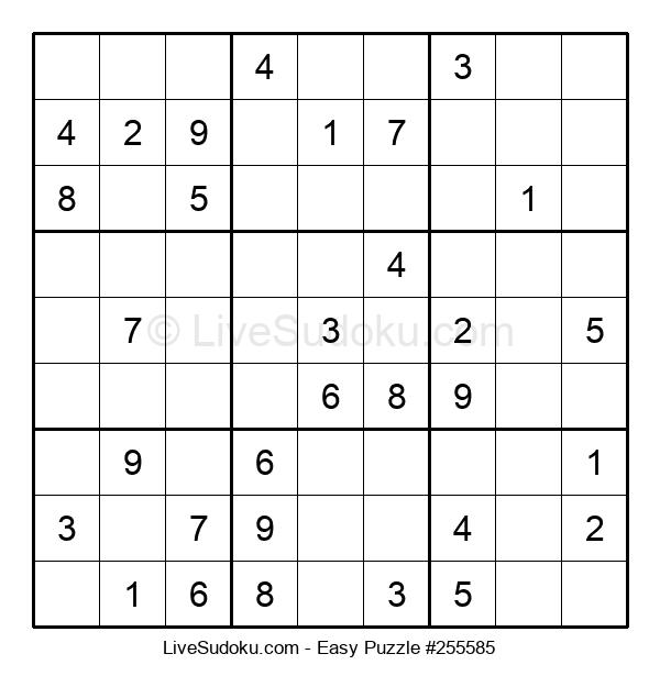 Beginners Puzzle #255585