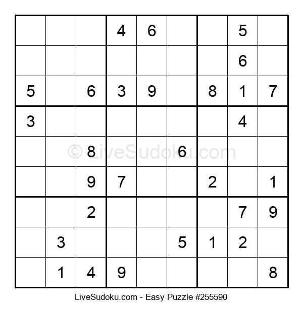 Beginners Puzzle #255590