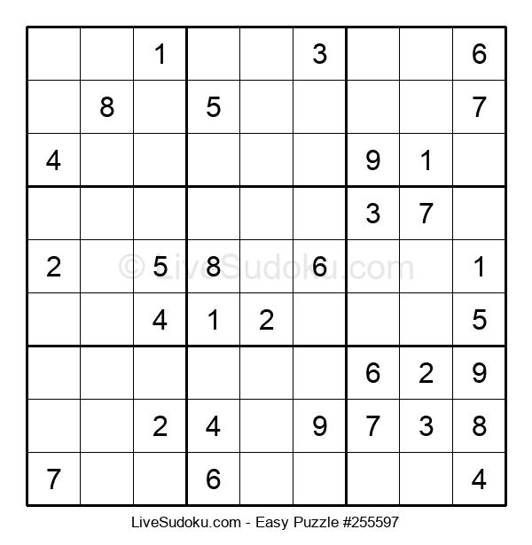 Beginners Puzzle #255597
