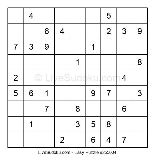 Beginners Puzzle #255604