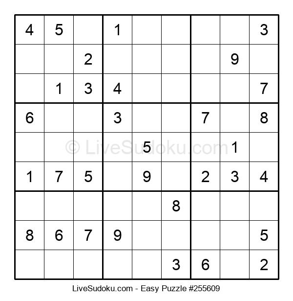 Beginners Puzzle #255609