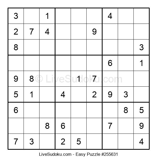 Beginners Puzzle #255631