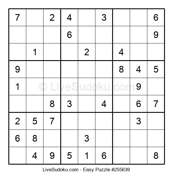 Beginners Puzzle #255639