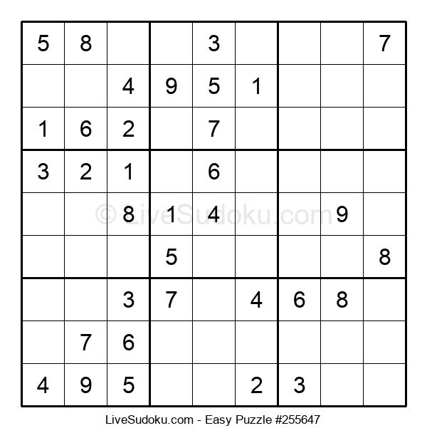 Beginners Puzzle #255647