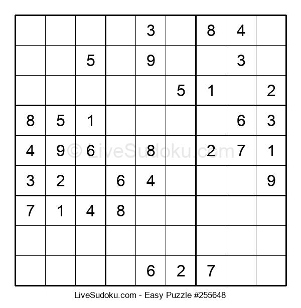 Beginners Puzzle #255648