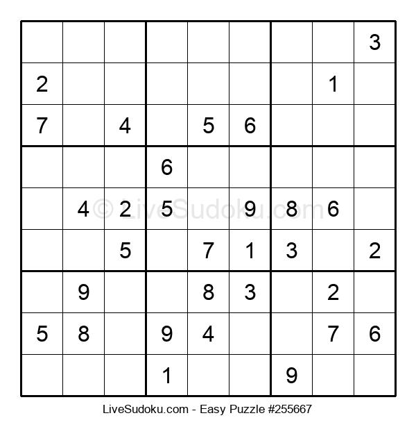 Beginners Puzzle #255667