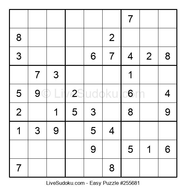 Beginners Puzzle #255681