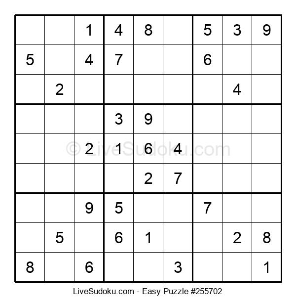 Beginners Puzzle #255702