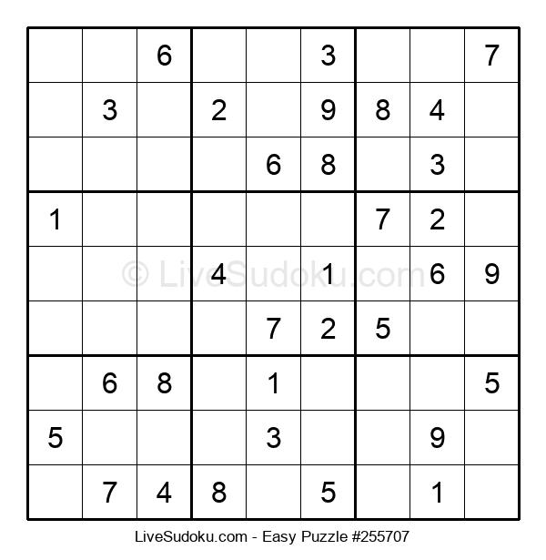 Beginners Puzzle #255707
