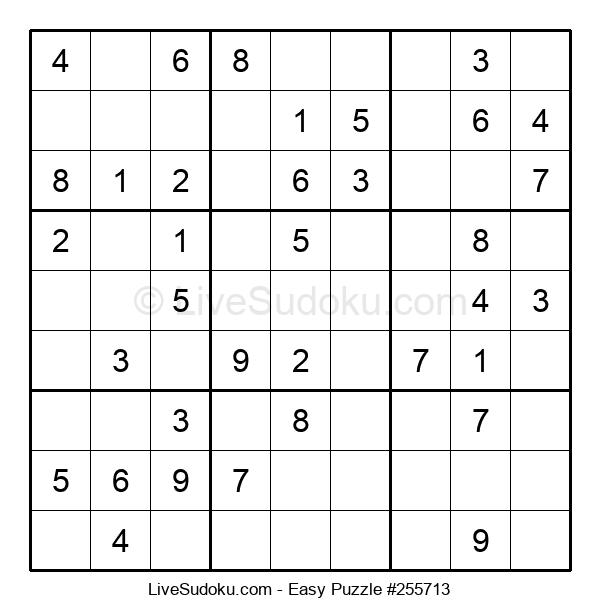 Beginners Puzzle #255713