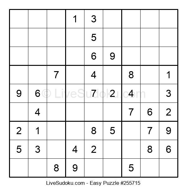 Beginners Puzzle #255715