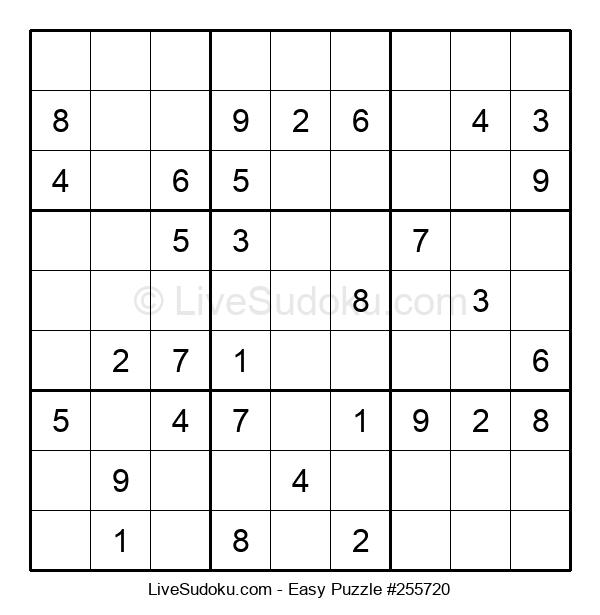 Beginners Puzzle #255720