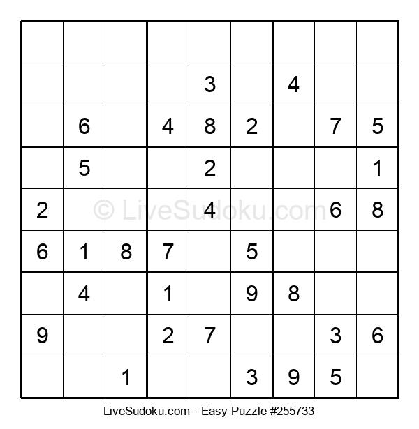 Beginners Puzzle #255733
