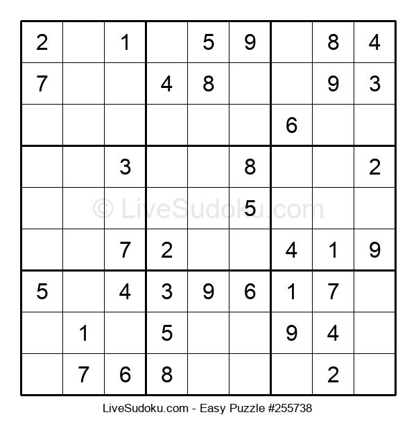 Beginners Puzzle #255738