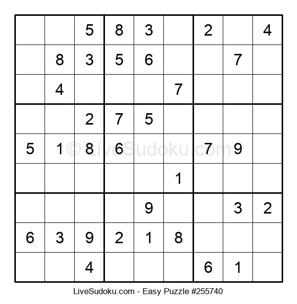 Beginners Puzzle #255740