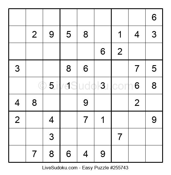Beginners Puzzle #255743