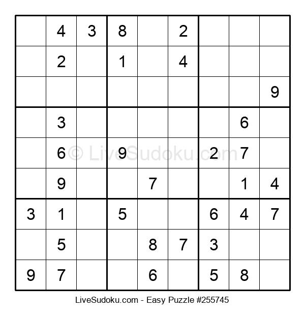 Beginners Puzzle #255745