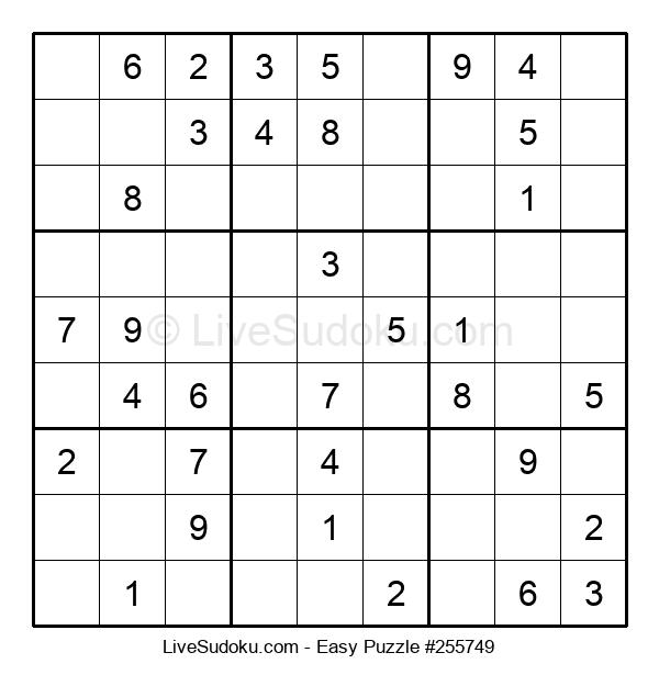 Beginners Puzzle #255749