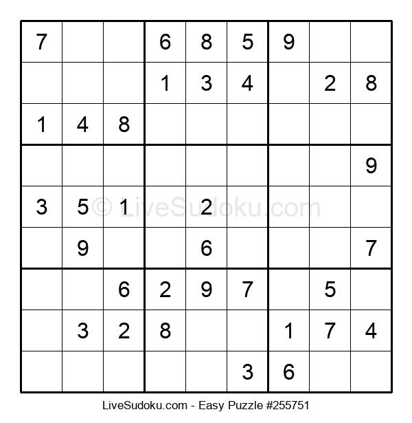 Beginners Puzzle #255751