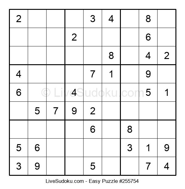 Beginners Puzzle #255754