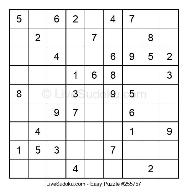 Beginners Puzzle #255757