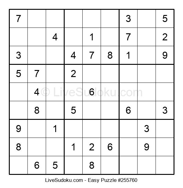Beginners Puzzle #255760